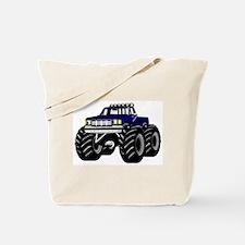 Blue MONSTER Truck Tote Bag