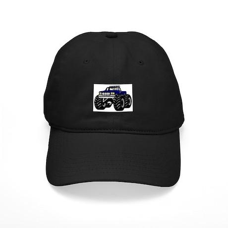 Blue MONSTER Truck Black Cap