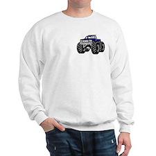 Blue MONSTER Truck Sweatshirt