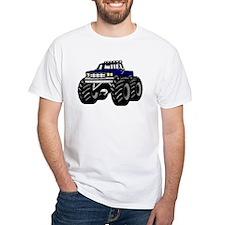 Blue MONSTER Truck Shirt