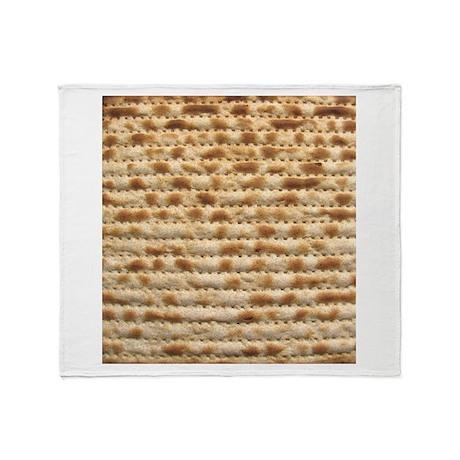Matzah Throw Blanket