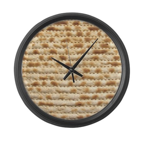 Matzah Large Wall Clock