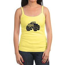 Blue MONSTER Truck Jr.Spaghetti Strap