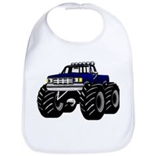 Blue MONSTER Truck Bib