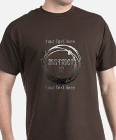 District 12 Your Text T-Shirt