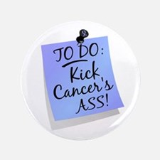 """To Do 1 Prostate Cancer 3.5"""" Button"""