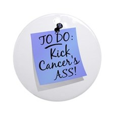 To Do 1 Prostate Cancer Ornament (Round)