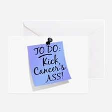 To Do 1 Prostate Cancer Greeting Card