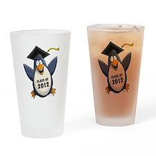 2012 Graduate Penguin Drinking Glass