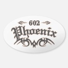 Phoenix 602 Sticker (Oval)