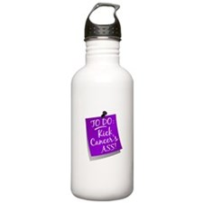 To Do 1 Pancreatic Cancer Water Bottle