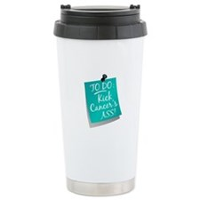 To Do 1 Ovarian Cancer Travel Mug