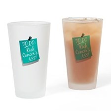 To Do 1 Ovarian Cancer Drinking Glass
