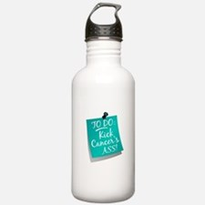 To Do 1 Ovarian Cancer Water Bottle