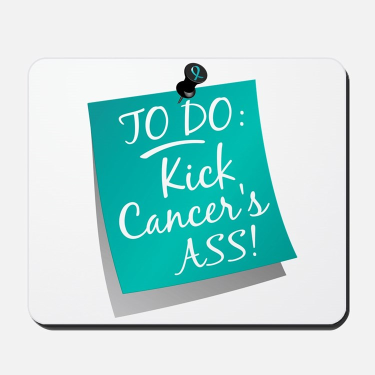 To Do 1 Ovarian Cancer Mousepad