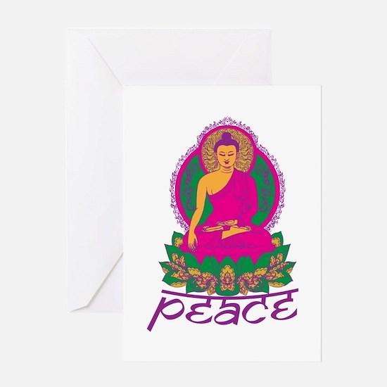 Buddha Peace Greeting Card