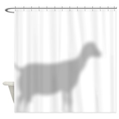LaMancha Goat Shower Curtain