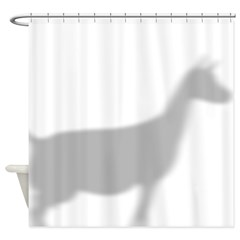 Dairy Goat Shower Curtain