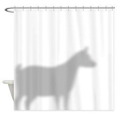 Pygmy Goat Shower Curtain