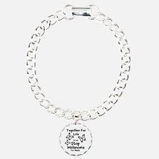 Personalize Melanoma Bracelet
