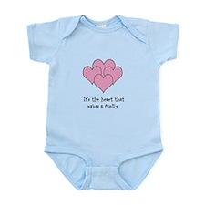 many hearts Infant Bodysuit