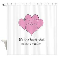 many hearts Shower Curtain