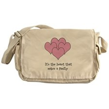 many hearts Messenger Bag