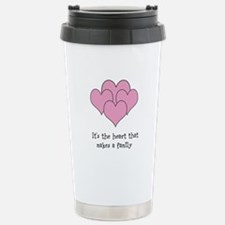many hearts Stainless Steel Travel Mug