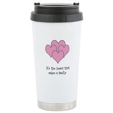 many hearts Travel Mug