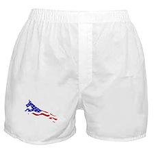 Great Dane Jumper Flag Boxer Shorts