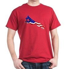 Great Dane Jumper Flag T-Shirt
