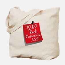 To Do 1 Oral Cancer Tote Bag