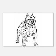 Pitbull Postcards (Package of 8)