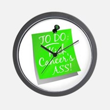 To Do 1 Lymphoma Wall Clock