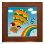 On Balloon Framed Tile