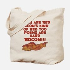 Bacon Poem Tote Bag