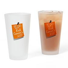 To Do 1 Leukemia Drinking Glass