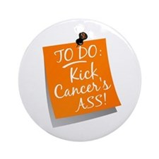To Do 1 Kidney Cancer Ornament (Round)