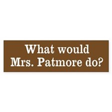 What Would Mrs. Patmore Do? (Bumper)