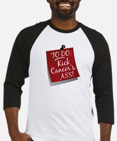 To Do 1 Head and Neck Cancer Baseball Jersey
