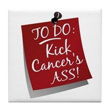 To Do 1 Head and Neck Cancer Tile Coaster