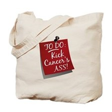 To Do 1 Head and Neck Cancer Tote Bag