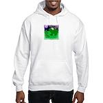 HAPPY FOURTH OF JULY (FROG LOOK) Hooded Sweatshirt