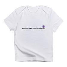 savasana Infant T-Shirt