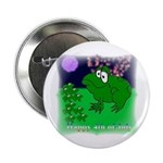 HAPPY FOURTH OF JULY (FROG LOOK) Button