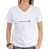 Savasana Womens V-Neck T-shirts