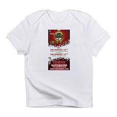 Merry Holidays shows - Dec 20 Infant T-Shirt