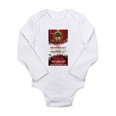 Merry Holidays shows - Dec 20 Long Sleeve Infant B