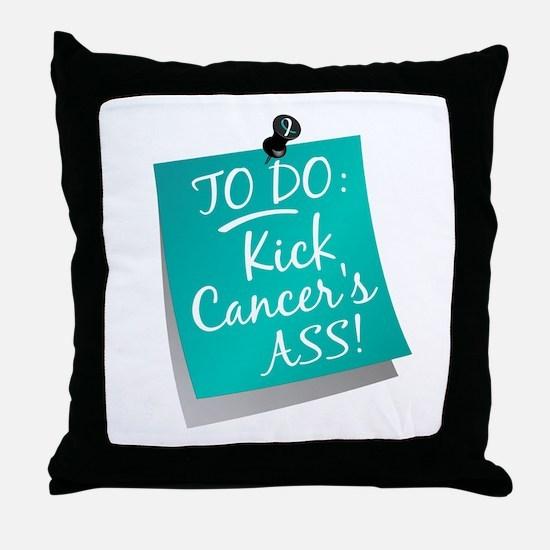 To Do 1 Cervical Cancer Throw Pillow