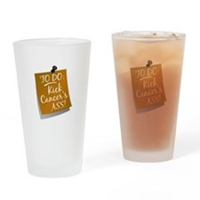 To Do 1 Appendix Cancer Drinking Glass